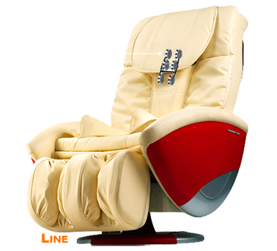 6 роликовый механизм массажного кресла