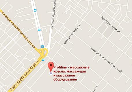 """Магазин """"Profiline - Массажное оборудование"""" в Одессе"""