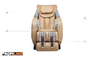 Строение массажного кресла